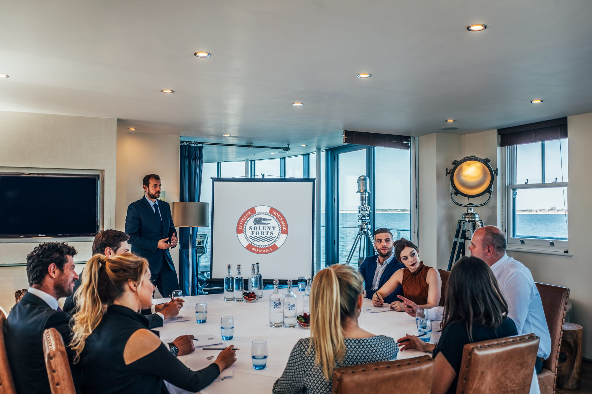 What Makes Corporate Events on The Solent Forts so Special?