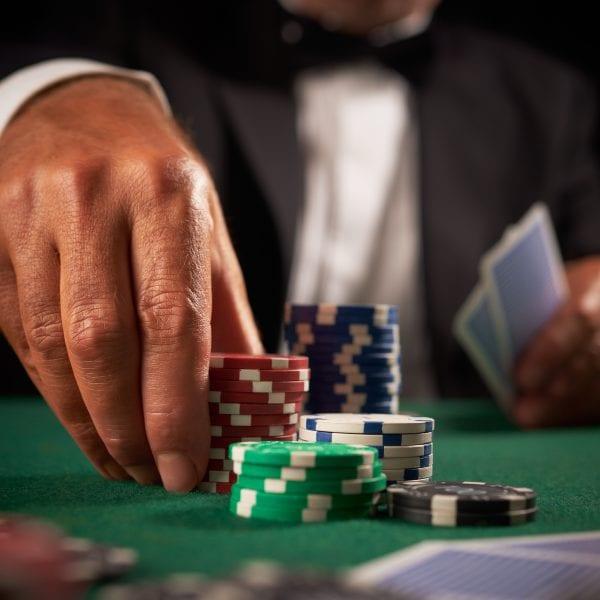 James Bond Event Casino Tables